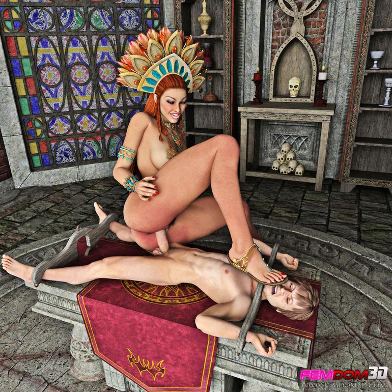 Секс с королева