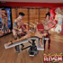 Filthy tattooed shemales bangs a redhead in tattoo saloon