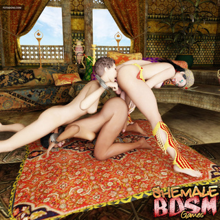 Transsexual sex of the sexiest glamorous shemales - Picture 5