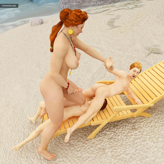 outstanding cock-sucking action beach