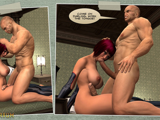 Brutal 3D sex action featuring an outstanding shemale - Picture 3
