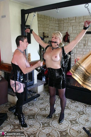 Die leash young tranny cum and