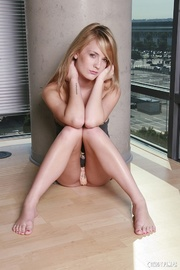 skinny blonde with tattooed