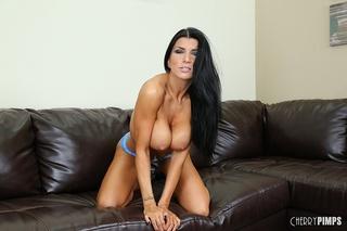 tall raven big boobs
