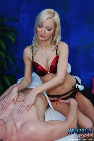 fit sultry blonde drilled