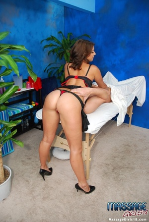 Naughty babe in a kinky black lingerie s - XXX Dessert - Picture 8