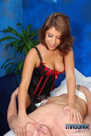 Naughty babe in a kinky black lingerie s - XXX Dessert - Picture 9