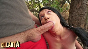Wild brunette gets holes banged in the f - XXX Dessert - Picture 7