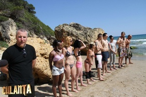 Six slender girls in bikinis, what could - XXX Dessert - Picture 3