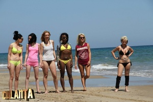 Six slender girls in bikinis, what could - XXX Dessert - Picture 9