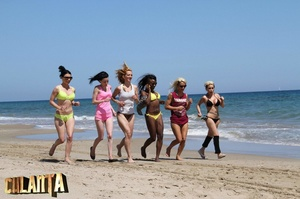 Six slender girls in bikinis, what could - XXX Dessert - Picture 10