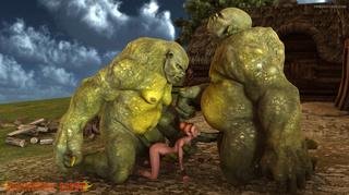 giant green beasts double