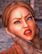 Brutal demon hardly bangs a passionate slender female