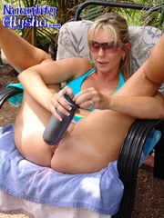 amazing blonde with huge