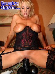 juicy blonde milf with