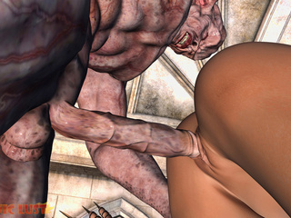 Nasty as fuck demon hardly banged a sex-loving babe - Picture 3