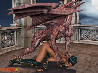 Nasty as fuck demon hardly banged a sex-loving babe - Picture 4