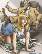 Hot girls are sucking dicks in the office. Housebreaking By Erenisch