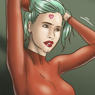 Teacher in tight red dress dreams about - BDSM Art Collection - Pic 3
