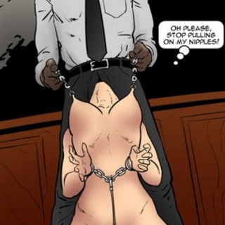 Crazy interracial deepthroat by a - BDSM Art Collection - Pic 2