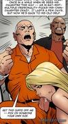 Redhead impaled hard by a fat black snake. Dark Vengeance By Fernando