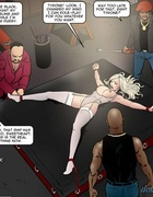 Electric tortures for a big-boobed blonde. Dark Vengeance By Fernando