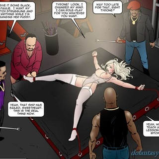 Electric tortures for a big-boobed - BDSM Art Collection - Pic 1