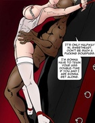 Brutal interracial anal sex with a leggy blonde. Dark Vengeance By Fernando