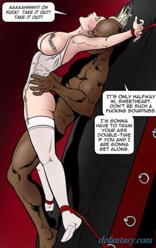 brutal interracial anal sex