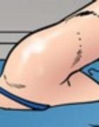 Brutal double penetration of a busty blonde. Dark Vengeance By Fernando
