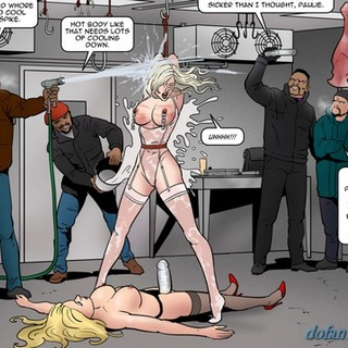 Babe with strapon nailed her leggy - BDSM Art Collection - Pic 2
