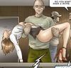 Naked babe in red high heels loves BDSM sex. Housebreaking By Erenisch