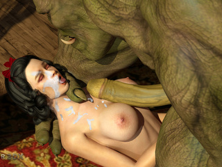 Big-boobed brunette gets some monster jizz after sex - Picture 6