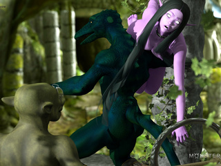 Insane 3D sex adventure with the hottest slender - Picture 5