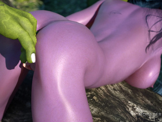 Green leprechauns pounds a lustful as hell pixie - Picture 3