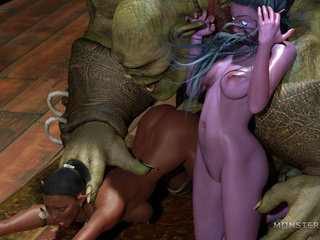 Insane 3D sex adventure with obedient pixies and - Picture 5