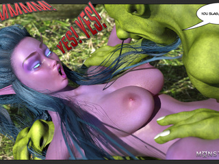 Two green monsters nailed a godlike purple pixie - Picture 5