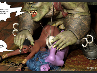 Hardcore green monsters and a perfect fuck material - Picture 5