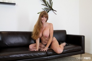 Big titted milf with brown hair fucks he - XXX Dessert - Picture 4
