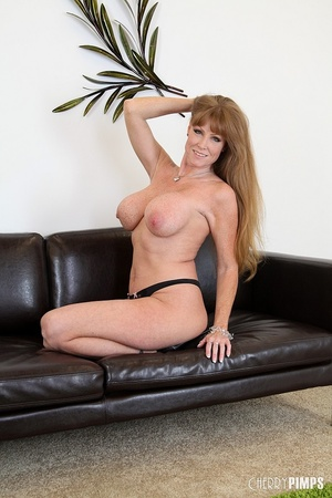 Big titted milf with brown hair fucks he - XXX Dessert - Picture 5