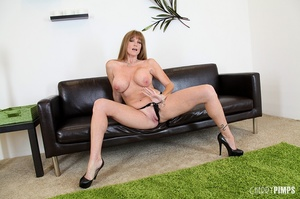 Big titted milf with brown hair fucks he - XXX Dessert - Picture 6