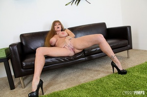 Big titted milf with brown hair fucks he - XXX Dessert - Picture 9
