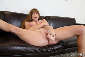 Big titted milf with brown hair fucks he - XXX Dessert - Picture 12