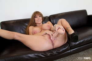 Big titted milf with brown hair fucks he - XXX Dessert - Picture 13