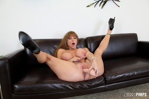 Big titted milf with brown hair fucks he - XXX Dessert - Picture 14