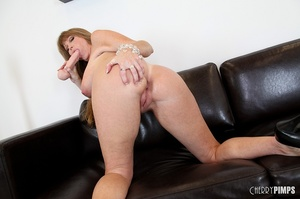 Big titted milf with brown hair fucks he - XXX Dessert - Picture 15