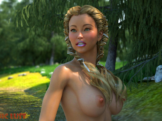 The filthiest 3D demons dicks the hottest lasses - Picture 1