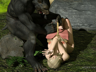 Little Red Riding Hood and satanic 3D wolf - Picture 6