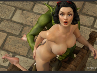 Amazingly sexy big boobed brunette enjoys leprechauns - Picture 4
