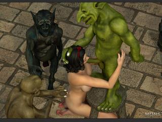 Amazingly sexy big boobed brunette enjoys leprechauns - Picture 6